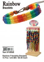 Rainbow Bracelets Wholesale