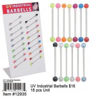 Wholesale UV Industrial Barbells