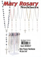 Wholesale Mary Rosary Necklaces