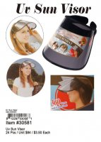 Uv Sun Visor Wholesale