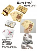 Water Proof Playing Cards Wholesale