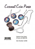 Coconut Coin Purse Wholesale
