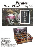 Pirates Love Pearl Key Chains Wholesale