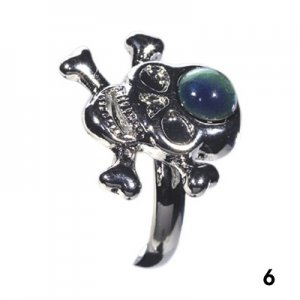 Wholesale Mood Rings - Style 6 - Pirate