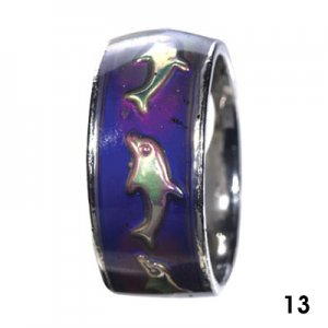 Wholesale Mood Rings - Style 13 - Dolphins