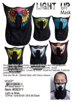 Light Up Mask Wholesale