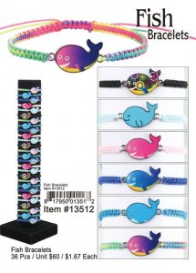 Fish Bracelets Wholesale