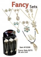 Fancy Necklace Earring Sets Wholesale