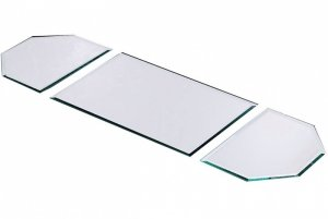 5mm Beveled Edge Table Runner 3 Piece Mirror