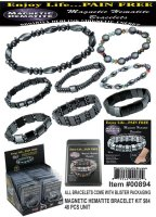 Wholesale Magnetic Hematite Bracelets