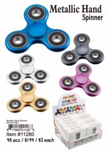 Metallic Hand Spinners Wholesale