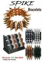Metallica Spike Bracelets ON CLEARANCE