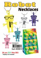 Robot Necklaces NOW ON CLEARANCE