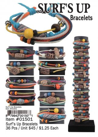 Surfs Up Bracelets Wholesale