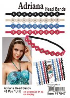 Adriana Head Bands NOW ON CLEARANCE