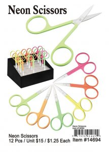 Neon Scissors Wholesale