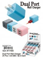 Dual Port Wall Chargers Wholesale