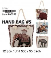 Hand Bags #5 African Elephant