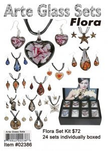 Murano Glass sets flora Kit