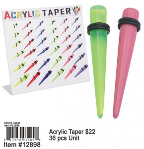 Wholesale Acrylic Tapers