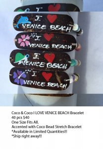 Venice Beach Coco Bracelets Wholesale