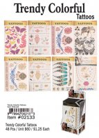 Trendy Colorful Tattoos Wholesale