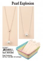 Pearl Explosion Necklaces Wholesale
