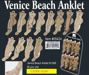 Wholesale Venice Beach Anklet Kit