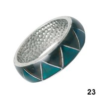 Wholesale Mood Rings - Style 23 - Triangle Shapes