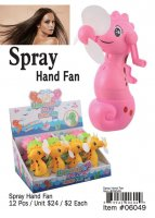 Spray Hand Fans Wholesale