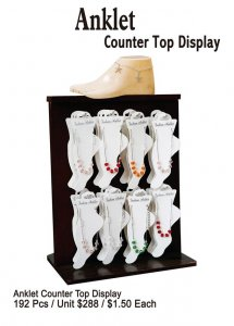 Anklet Counter Top Display