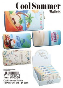 Cool Summer Wallets Wholesale