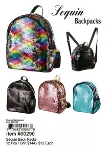 Sequin Backpacks Wholesale