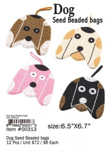 Dog Seed Beaded Bags Wholesale