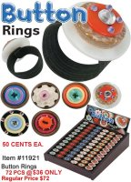 Button Rings Wholesale - Closeout