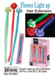 Flower Lightup Hair Extension Wholesale