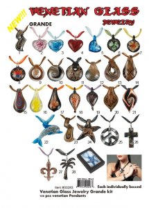 Wholesale Venetian Glass Jewelry Grand Kit - Best Seller