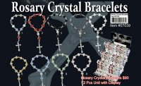 Wholesale Rosary Crystal Bracelets