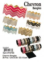 Chevron Bangles NOW ON CLEARANCE