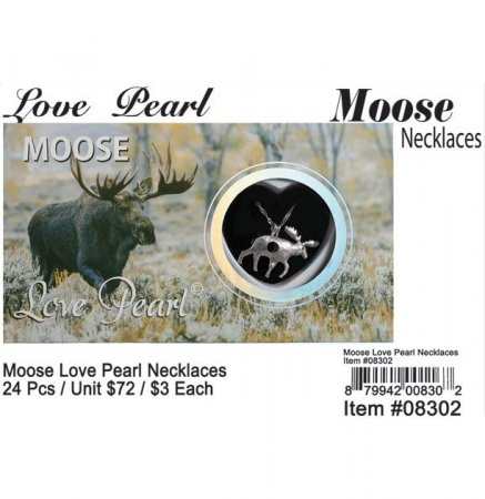 Love Pearl Moose Necklaces Wholesale