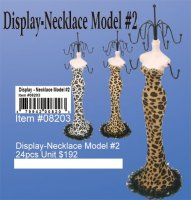 Wholesale Display - Necklace Model #2