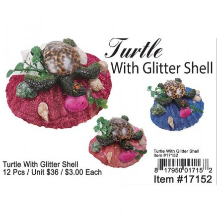 Turtle With Glitter Shell Wholesale