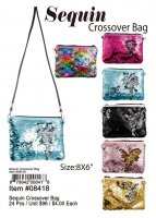 Sequin Crossover Bags Wholesale