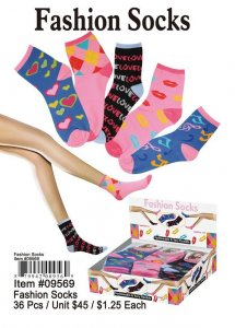 Fashion Socks NOW ON CLEARANCE
