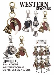 Western Keychains Wholesale