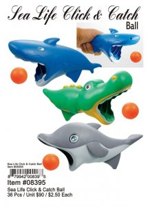 Sea Life Click And Catch Ball Wholesale