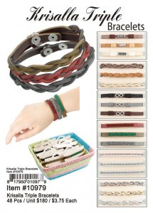 Krisalla Triple Bracelets Wholesale