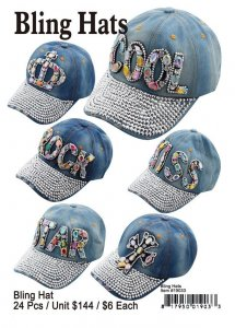 Bling Hats Wholesale