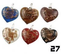 Wholesale Murano Glass Pendants #27 - BOXED