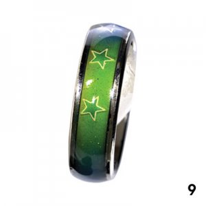 Wholesale Mood Rings - Style 9 - Irish stars